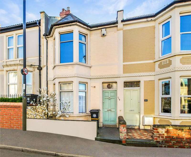 3 Bedrooms Terraced House for sale in Chessel Street, Bedminster, Chessels, Bristol, BS3