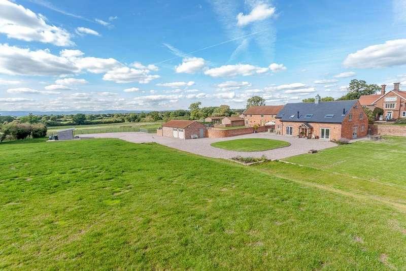 4 Bedrooms Detached House for sale in Grange Lane, Tilston, Malpas, SY14