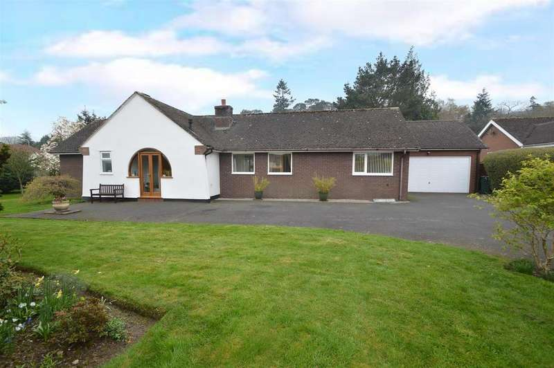 3 Bedrooms Detached Bungalow for sale in 1 Ashbrook Meadow, Carding Mill Valley, Church Stretton, SY6 6JF
