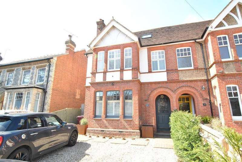 6 Bedrooms Semi Detached House for sale in Kidmore Road, Caversham Heights, Reading