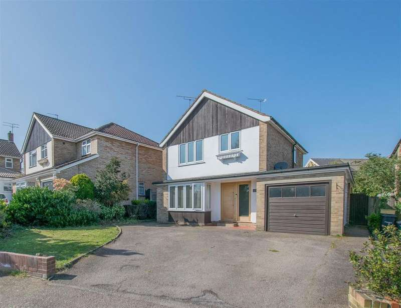 3 Bedrooms Detached House for sale in Roselands Avenue, Hoddesdon