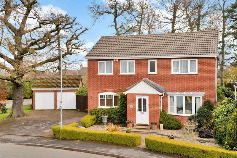 4 Bedrooms Detached House for sale in Northage Close, Quorn, Loughborough