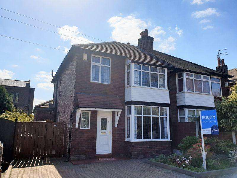 3 Bedrooms Semi Detached House for sale in Varden Grove, Stockport