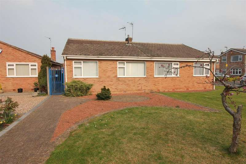 3 Bedrooms Semi Detached Bungalow for sale in Begonia Drive, Burbage