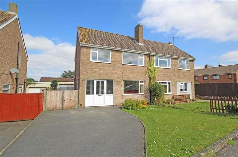3 Bedrooms Semi Detached House for sale in Withyfield Road, Bishops Cleeve, Cheltenham, GL52