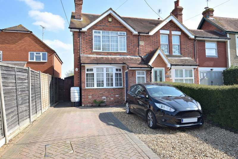 3 Bedrooms Semi Detached House for sale in Hyde End Lane, Ryeish Green, Reading, RG7