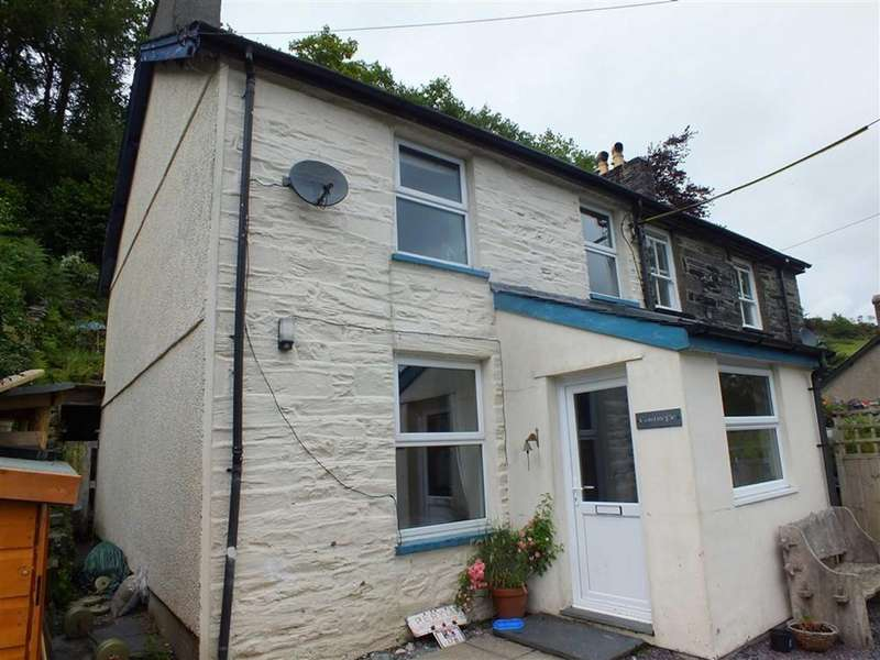 2 Bedrooms Semi Detached House for sale in Cartrefle, Dolwyddelan