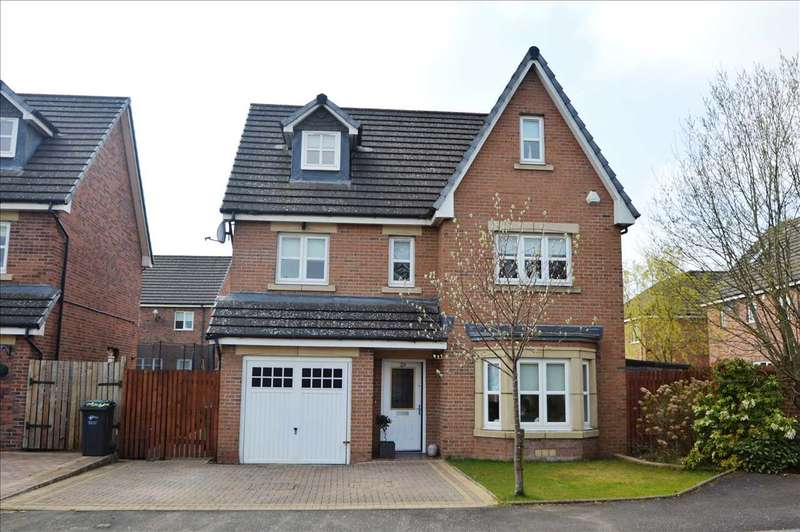 5 Bedrooms Detached House for sale in Bramley Drive, Bellshill