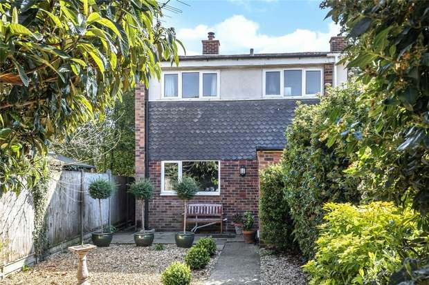 3 Bedrooms End Of Terrace House for sale in Fernlea Close, Bedford