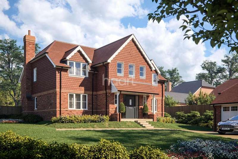 5 Bedrooms Detached House for sale in The Lyntons, Highfield Gardens, Liss, Hampshire