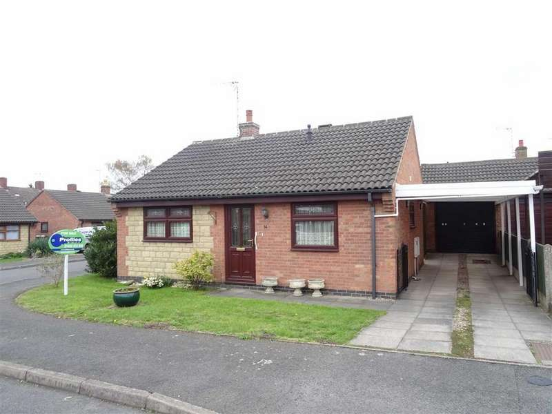 2 Bedrooms Detached Bungalow for sale in Holliers Way, Croft