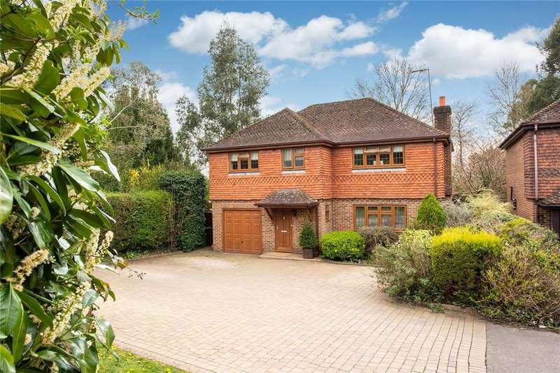 4 Bedrooms Detached House for sale in The Firs, Reigate Road, Betchworth, Surrey, RH3