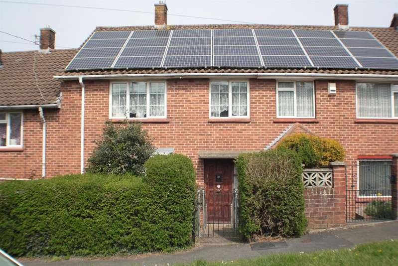 3 Bedrooms Terraced House for sale in Redford Walk, Withywood, Bristol, BS13 8SB