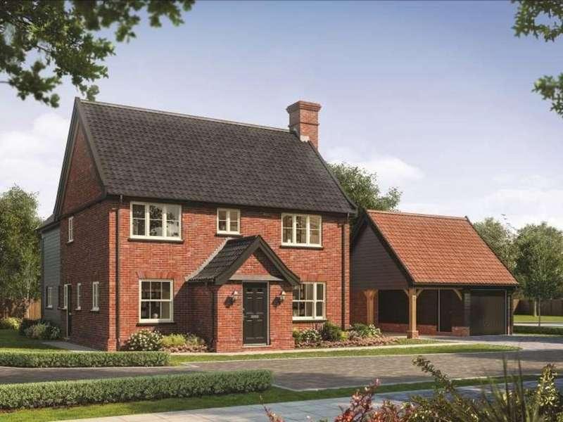 4 Bedrooms Detached House for sale in Plot 3 Poppy Fields, Gislingham