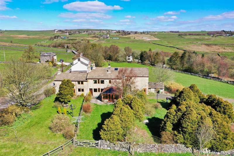 7 Bedrooms Detached House for sale in Staups farm and Cottage, Staups Lane, Todmorden, OL14 8RR