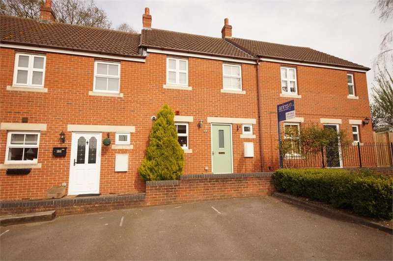 2 Bedrooms Terraced House for sale in Kingfisher Grove, Three Mile Cross, READING, Berkshire
