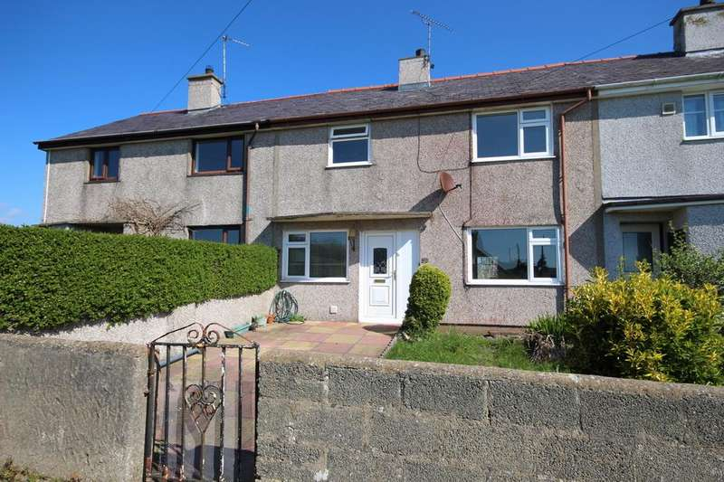 3 Bedrooms Terraced House for sale in Maes Cynlas, Bryn DU, Ty Croes, Anglesey LL63