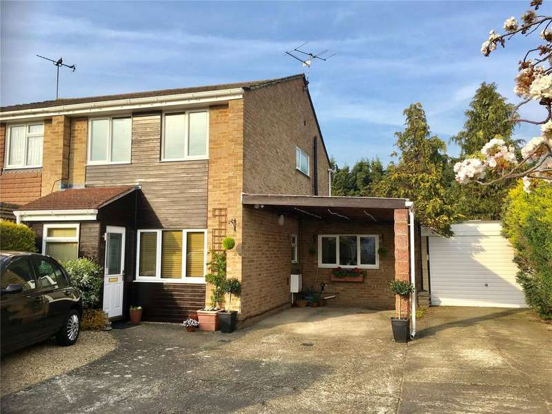 3 Bedrooms Semi Detached House for sale in Chatsworth Avenue, Winnersh, Wokingham, Berkshire, RG41