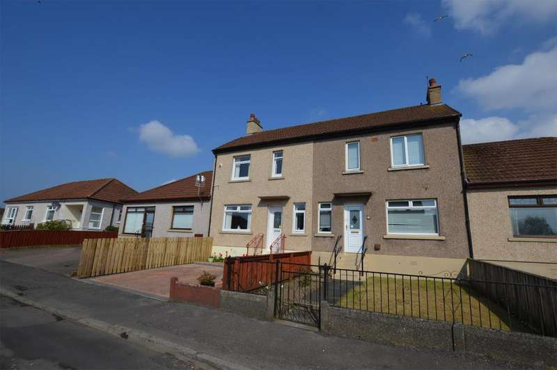 2 Bedrooms Terraced House for sale in 12 McGavin Avenue, KILWINNING, KA13 7JS