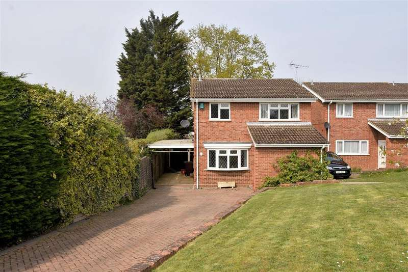 4 Bedrooms Detached House for sale in Calder Close, Tilehurst, Reading
