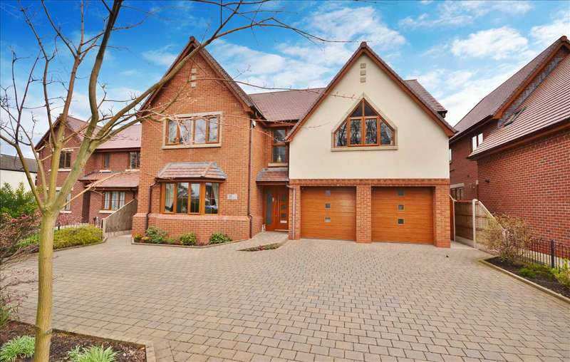 4 Bedrooms Detached House for sale in Wigan Road, Euxton, Chorley
