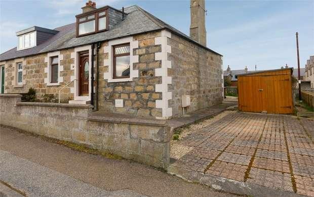 3 Bedrooms Semi Detached House for sale in Samson Street, Portknockie, Buckie, Moray