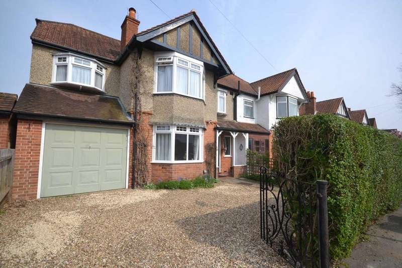 4 Bedrooms Semi Detached House for sale in Buxton Avenue, Caversham Heights