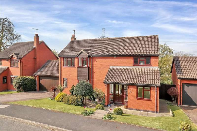 4 Bedrooms Detached House for sale in Holbourne Close, Barrow upon Soar, Leicestershire