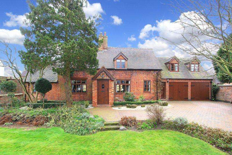 4 Bedrooms Cottage House for sale in WHEATON ASTON, School Road