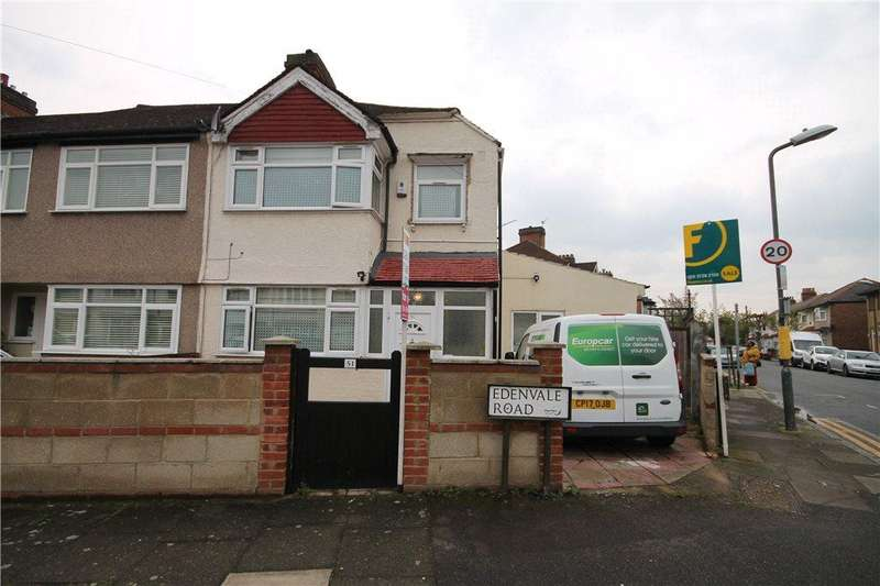 3 Bedrooms End Of Terrace House for sale in Edenvale Road, Mitcham, CR4