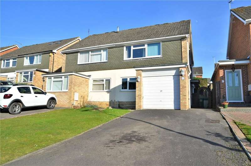 3 Bedrooms Semi Detached House for sale in Robin Way, Tilehurst, Reading, Berkshire, RG31