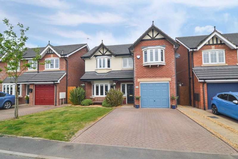 4 Bedrooms Detached House for sale in Etherley Drive, Newton Le Willows