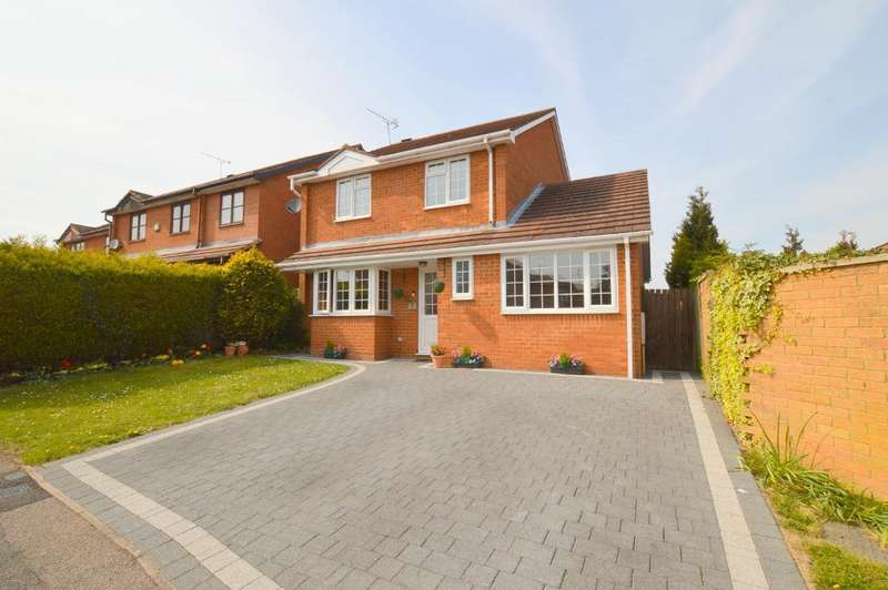 4 Bedrooms Detached House for sale in Mees Close, Barton Hills, Luton, LU3 4AZ