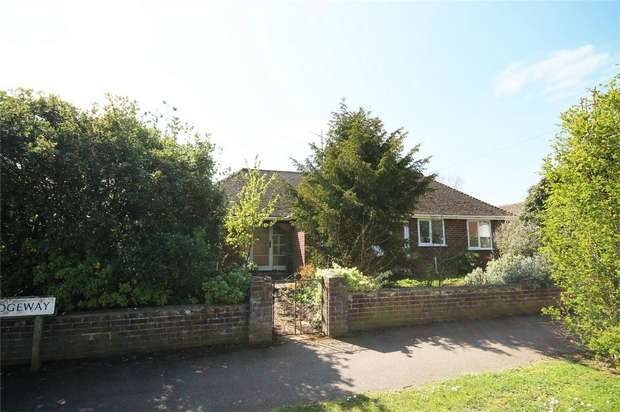 3 Bedrooms Detached Bungalow for sale in The Ridgeway, Bedford