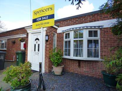 3 Bedrooms Bungalow for sale in Wolsey Way, Syston, Leicester, Leicestershire