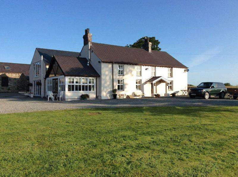 6 Bedrooms Country House Character Property for sale in Bodorgan, Anglesey