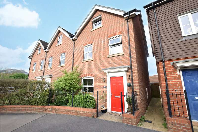 3 Bedrooms End Of Terrace House for sale in Butler Drive, Bracknell, Berkshire, RG12