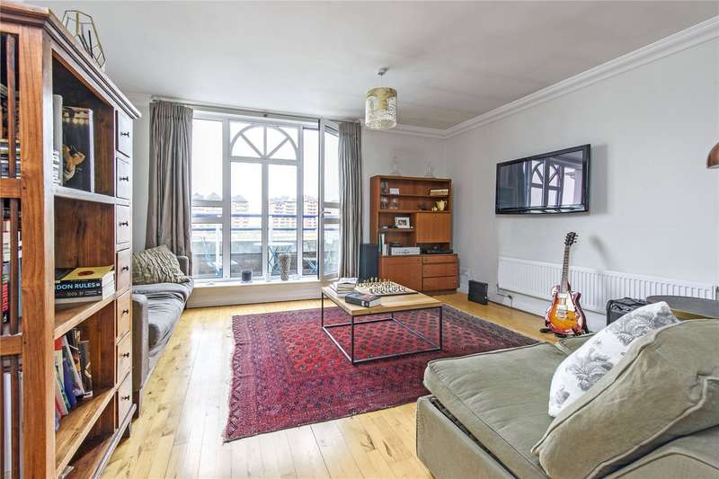 2 Bedrooms Flat for sale in Molasses House, Clove Hitch Quay, Wandsworth, London, SW11