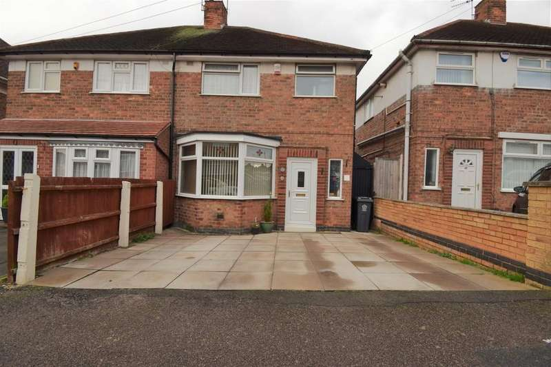 3 Bedrooms Semi Detached House for sale in Averil Road, Humberstone, Leicester