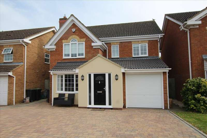 4 Bedrooms Detached House for sale in Jasmine Close, Biggleswade, SG18