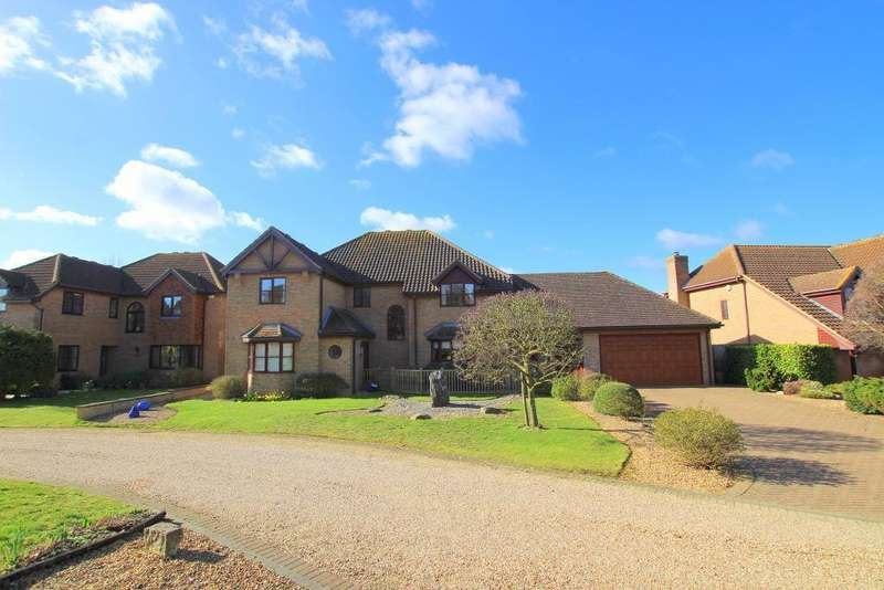 5 Bedrooms Detached House for sale in Berberry Drive, Flitton, Bedfordshire, MK45 5ER