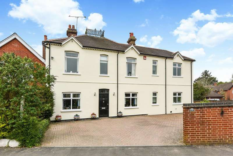 5 Bedrooms Detached House for sale in Redhill Road, Rowland's Castle