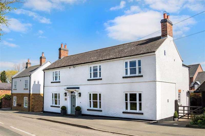 5 Bedrooms Detached House for sale in Main Street, East Farndon, East Farndon Market Harborough, Leicestershire