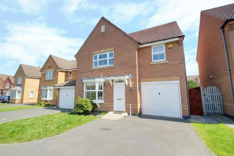4 Bedrooms Detached House for sale in Broombriggs Road, Bradgate Heights, Leicester