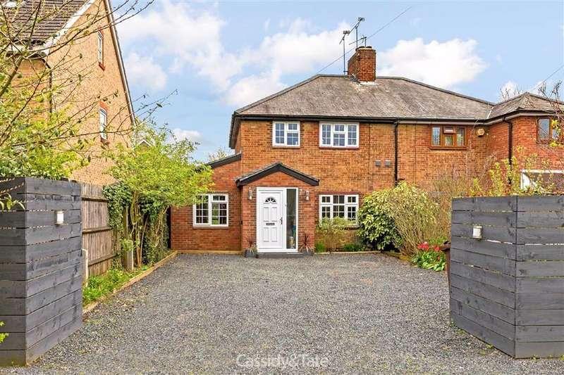 4 Bedrooms Semi Detached House for sale in Harper Lane, Radlett, Hertfordshire