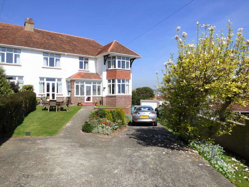 4 Bedrooms Semi Detached House for sale in Clennon Gardens, Paignton