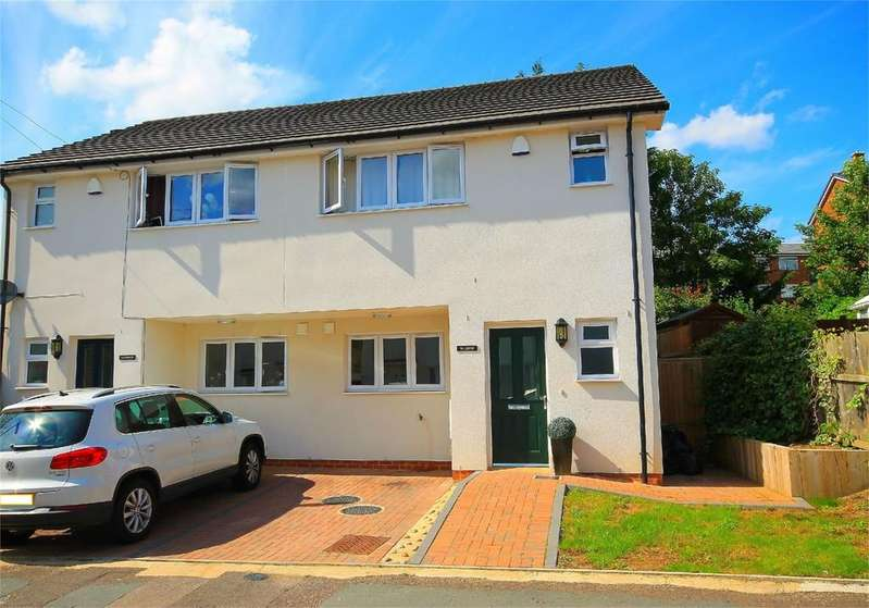 3 Bedrooms Semi Detached House for rent in William House Harcourt Road,Surrey GU15 3EP