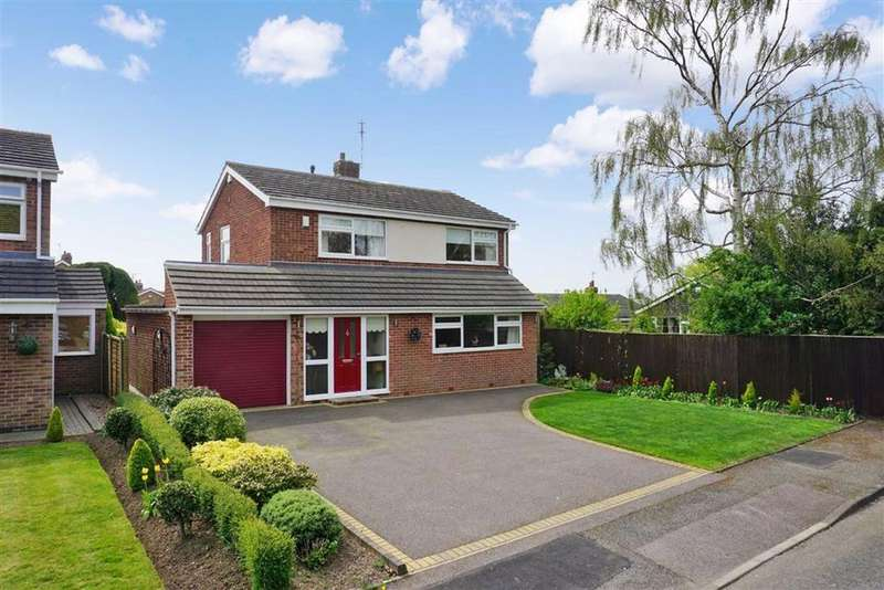 4 Bedrooms Detached House for sale in Hollies Way, Thurnby, Leicester