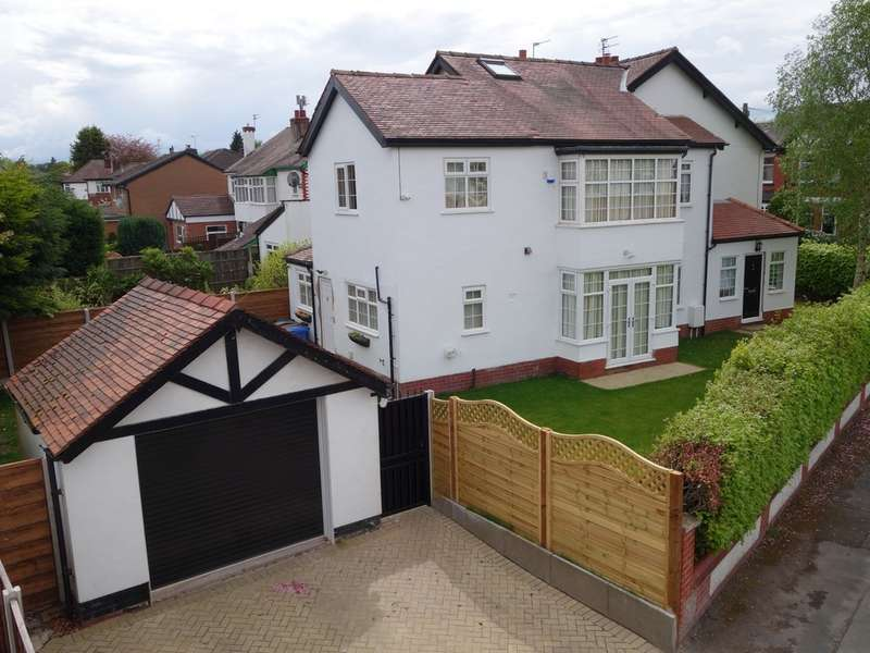 4 Bedrooms Semi Detached House for sale in Cedar Road, Gatley