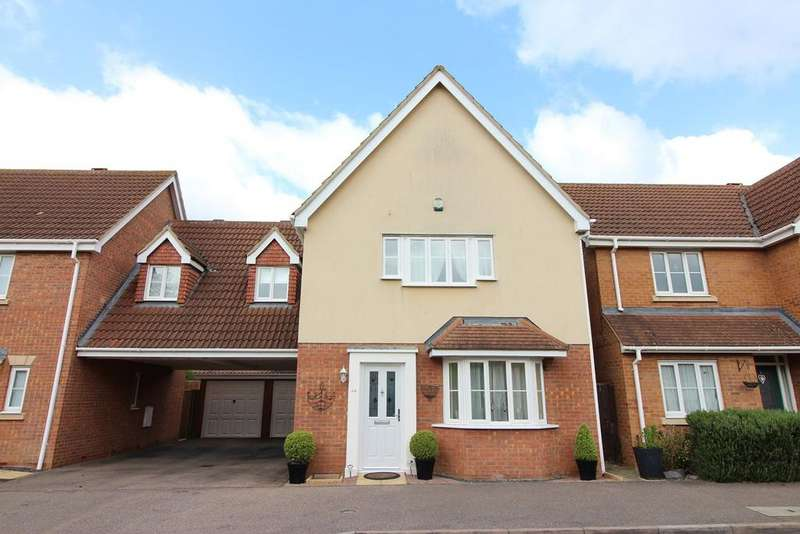 3 Bedrooms Link Detached House for sale in Kingfisher Road, Shefford, SG17